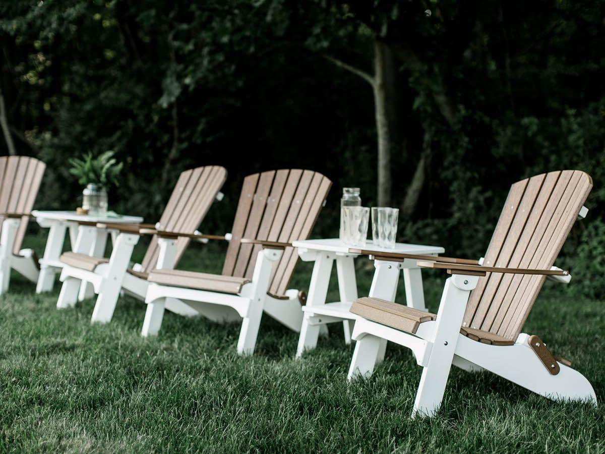 Poly Lumber Folding Adirondacks