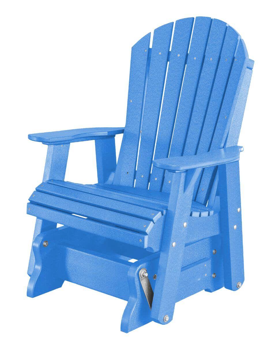 Blue Sidra Outdoor Glider Chair