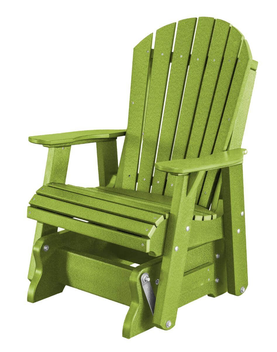 Lime Green Sidra Outdoor Glider Chair
