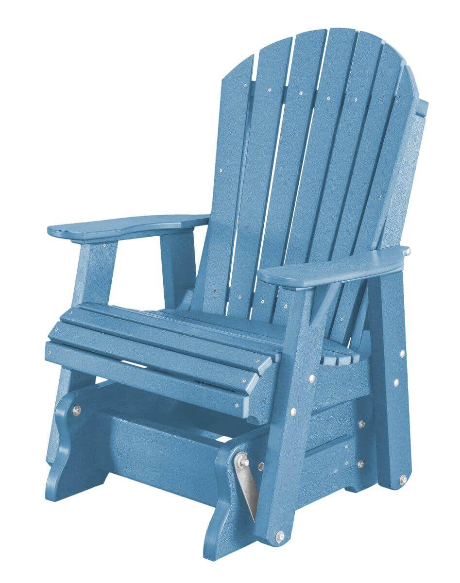 Powder Blue Sidra Outdoor Glider Chair