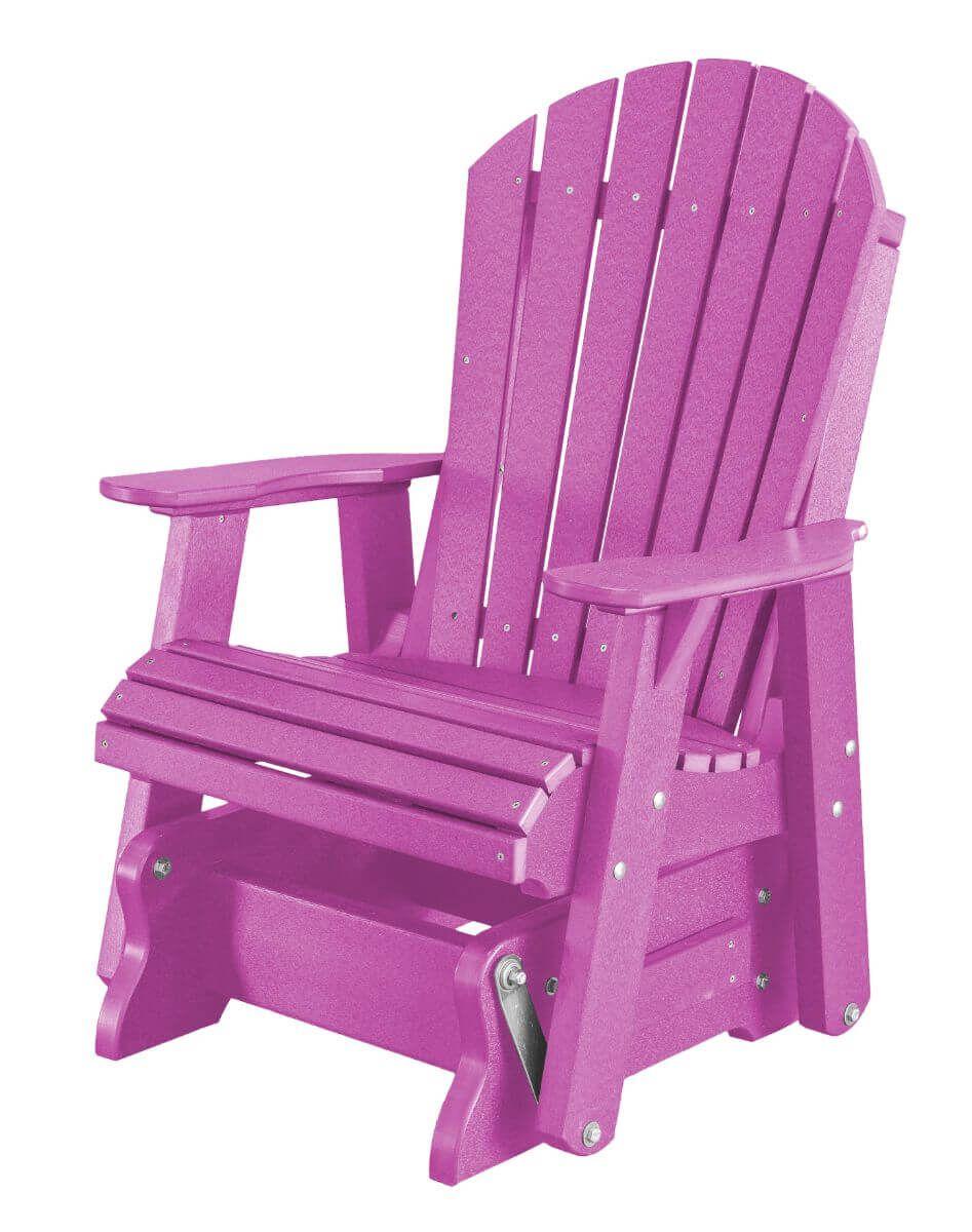 Purple Sidra Outdoor Glider Chair