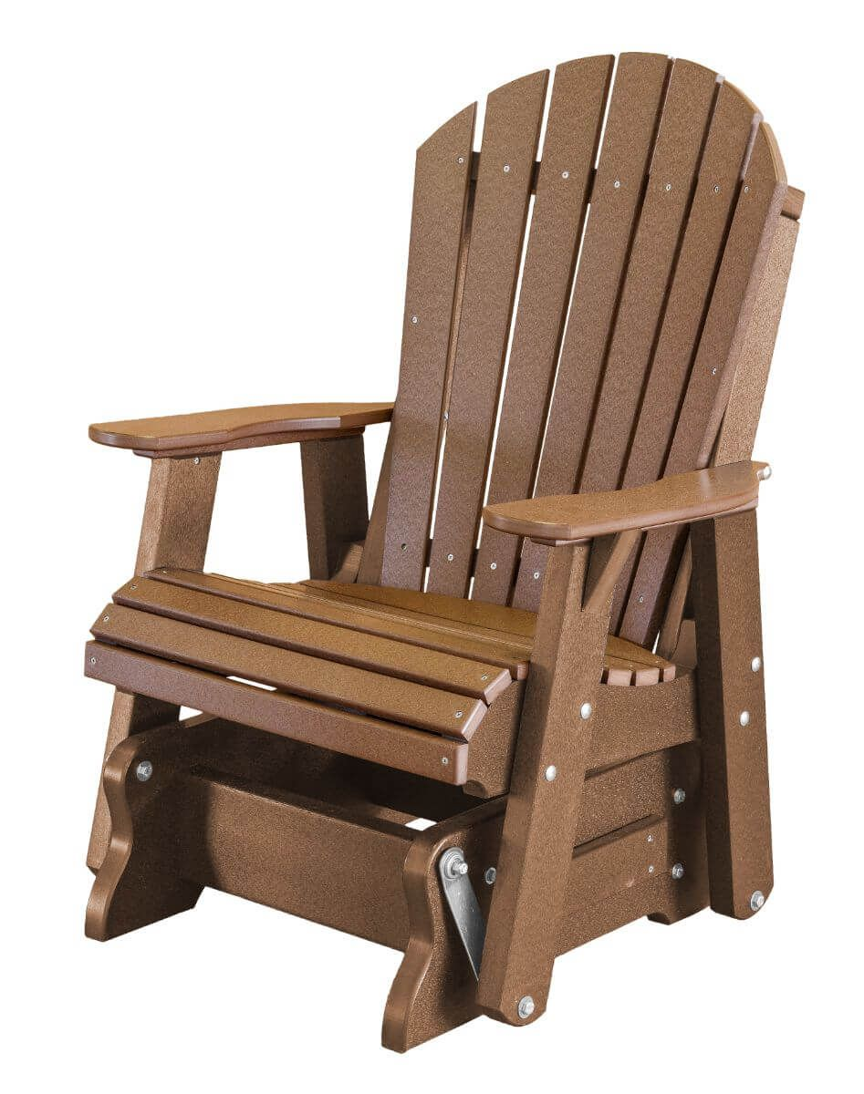 Tudor Brown Sidra Outdoor Glider Chair