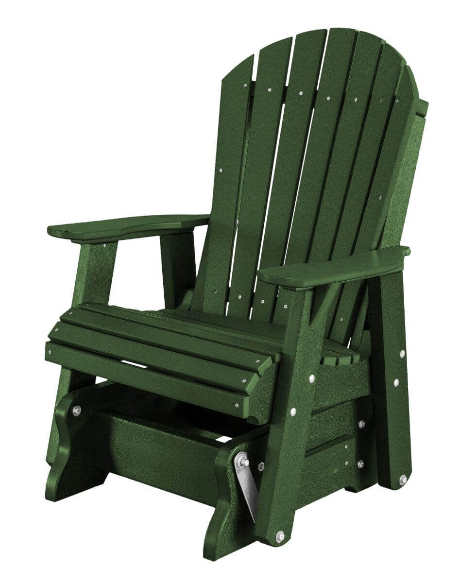 Turf Green Sidra Outdoor Glider Chair