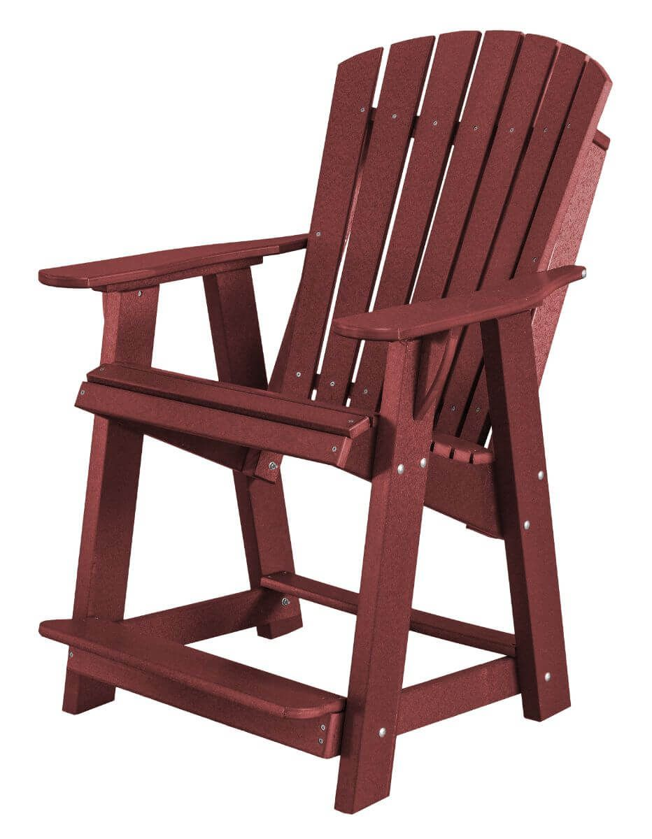 Cherry Wood Sidra High Adirondack Chair