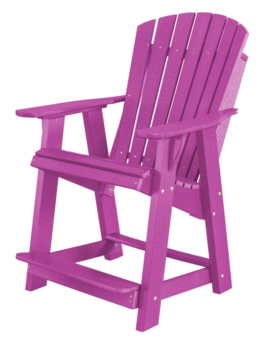 Purple Sidra High Adirondack Chair