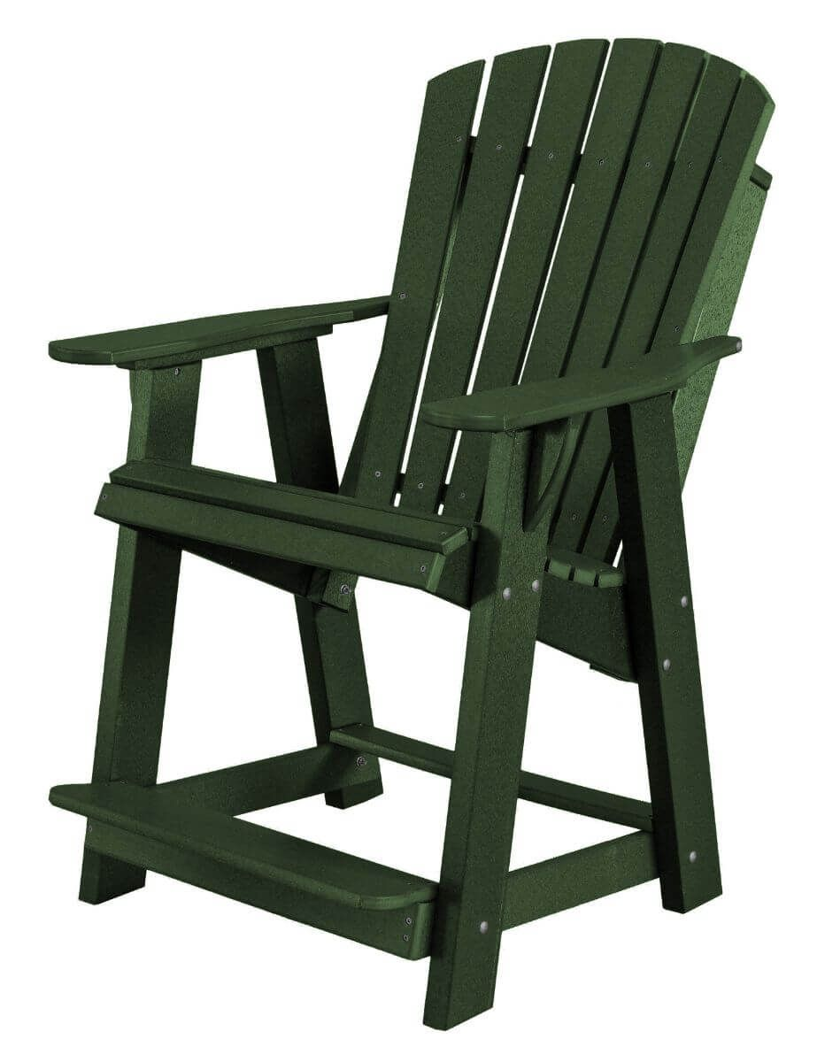 Turf Green Sidra High Adirondack Chair