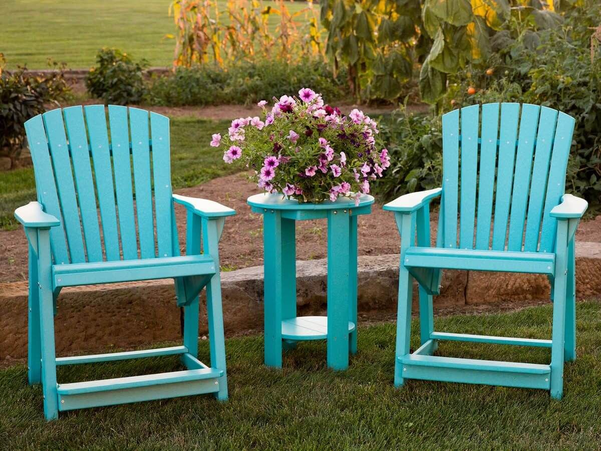 Counter Height Adirondack Chairs