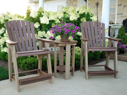 Balcony Adirondack Chairs and Table
