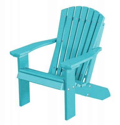 Aruba Blue Sidra Child's Adirondack Chair