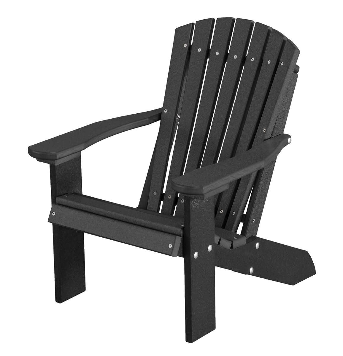 Black Sidra Child's Adirondack Chair