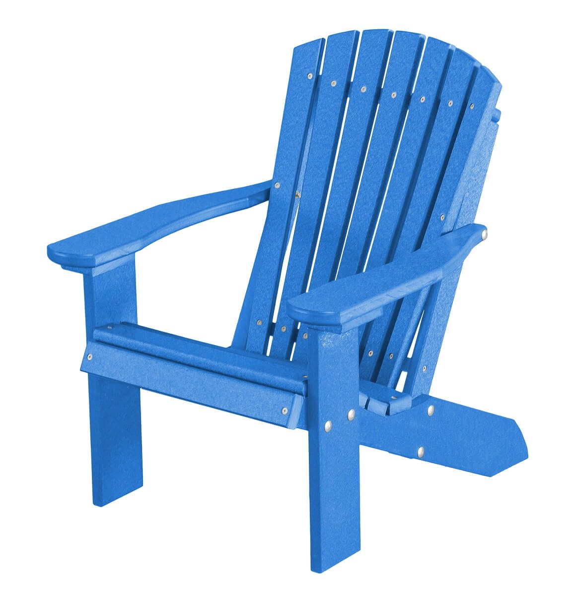 Blue Sidra Child's Adirondack Chair