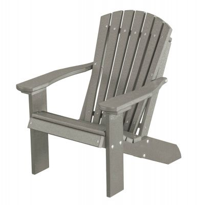 Light Gray Sidra Child's Adirondack Chair