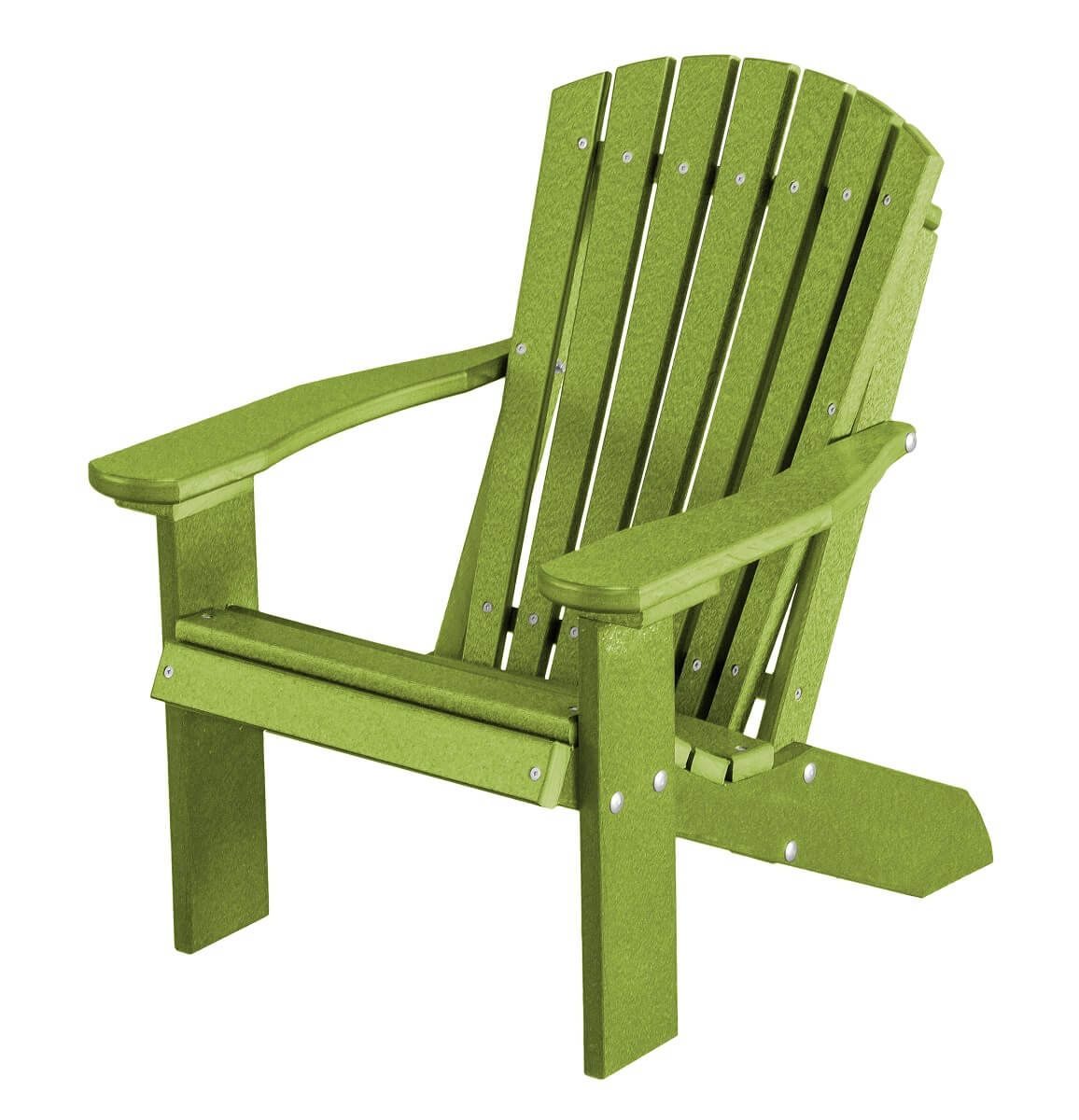 Lime Green Sidra Child's Adirondack Chair
