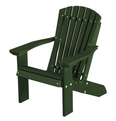 Turf Green Sidra Child's Adirondack Chair