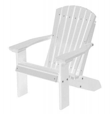 White Sidra Child's Adirondack Chair