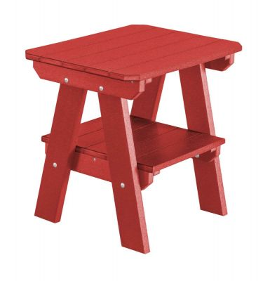 Cardinal Red Sidra Outdoor End Table