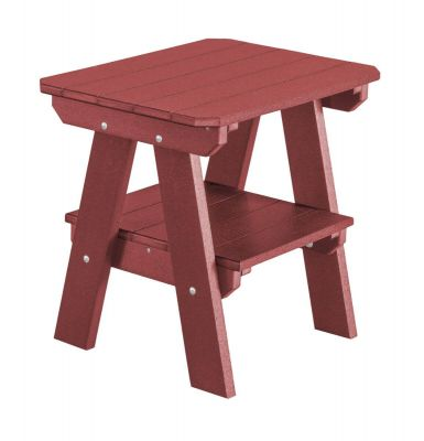 Cherry Wood Sidra Outdoor End Table