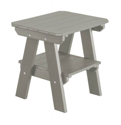 Light Gray Sidra Outdoor End Table