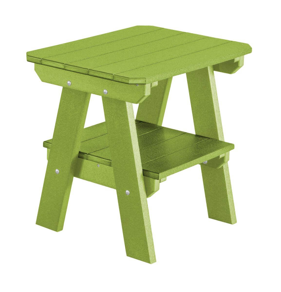 Lime Green Sidra Outdoor End Table