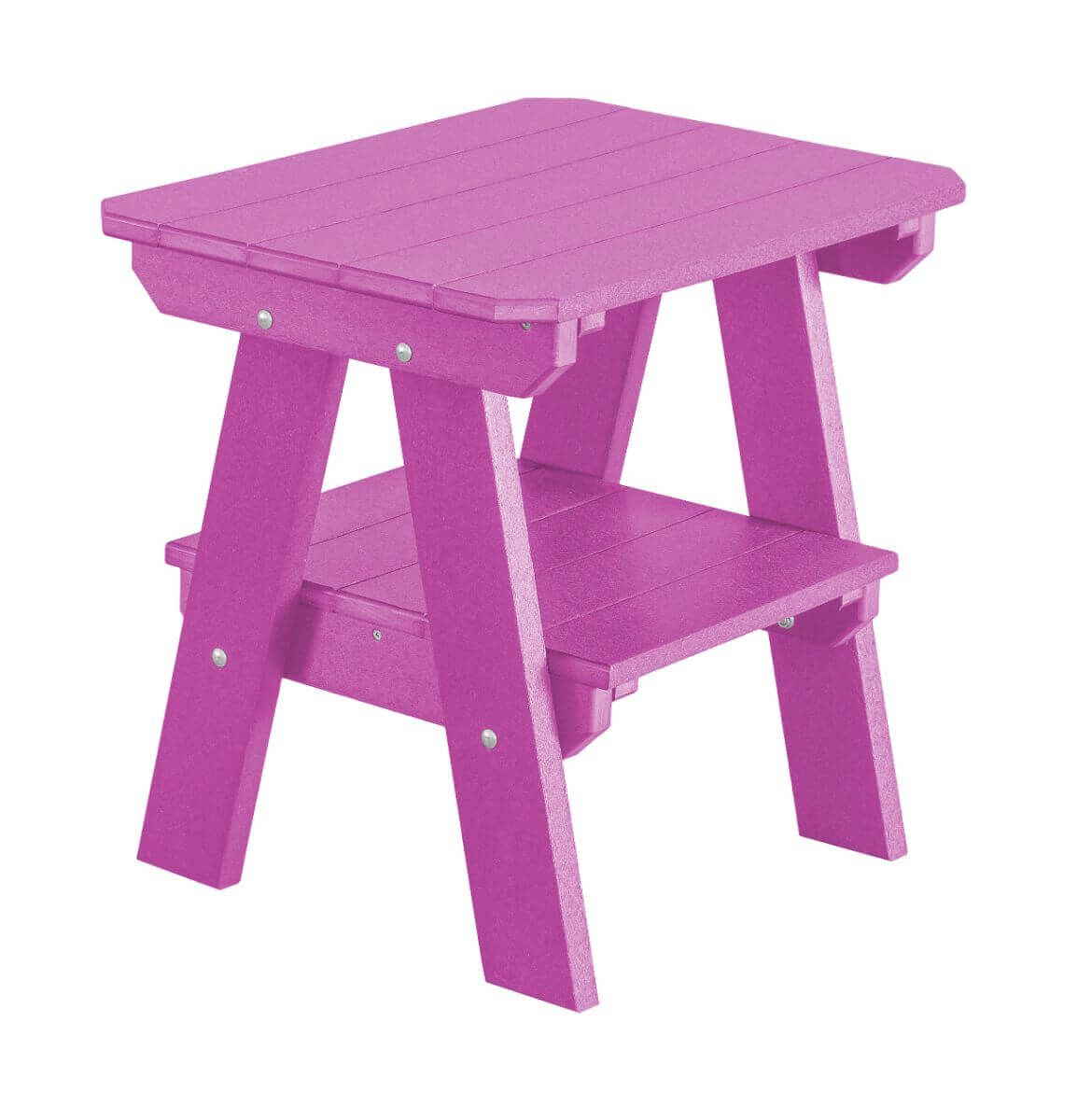 Purple Sidra Outdoor End Table