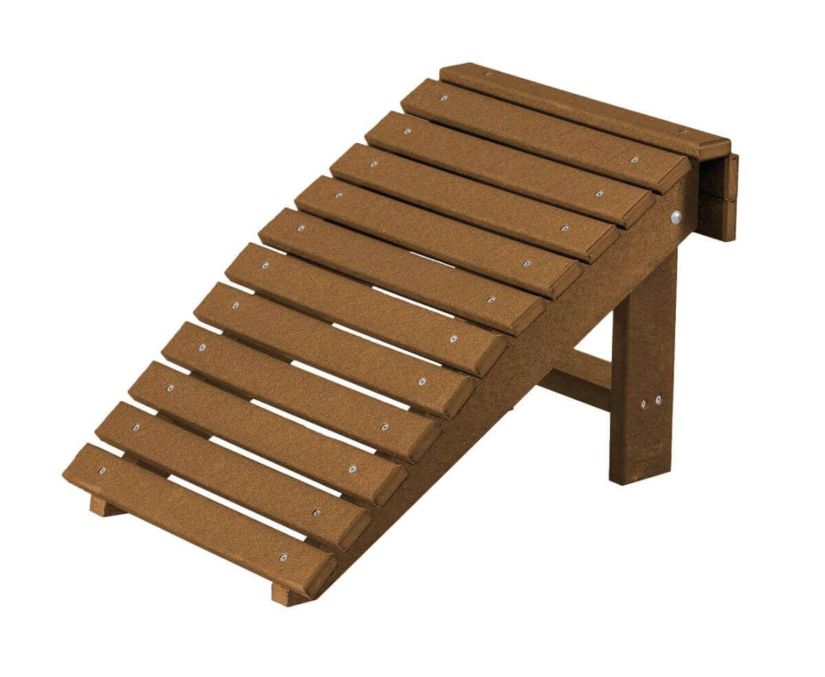 Tudor Brown Sidra Outdoor Folding Footstool