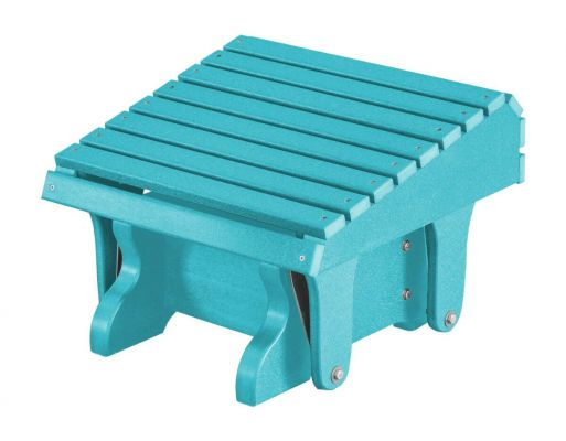 Aruba Blue Sidra Outdoor Gliding Footrest