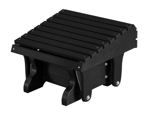 Black Sidra Outdoor Gliding Footrest
