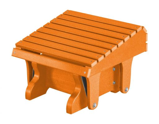 Orange Sidra Outdoor Gliding Footrest