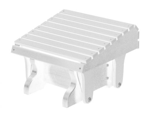White Sidra Outdoor Gliding Footrest