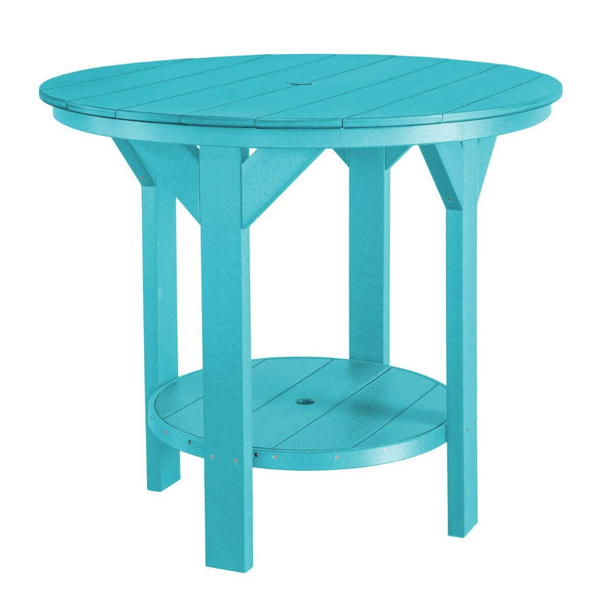 Aruba Blue Sidra Outdoor Pub Table