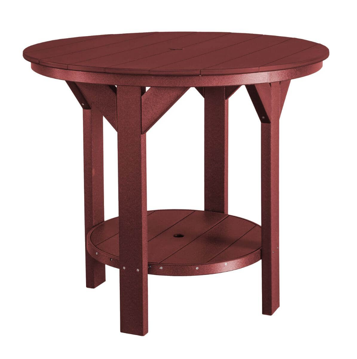 Cherry Wood Sidra Outdoor Pub Table