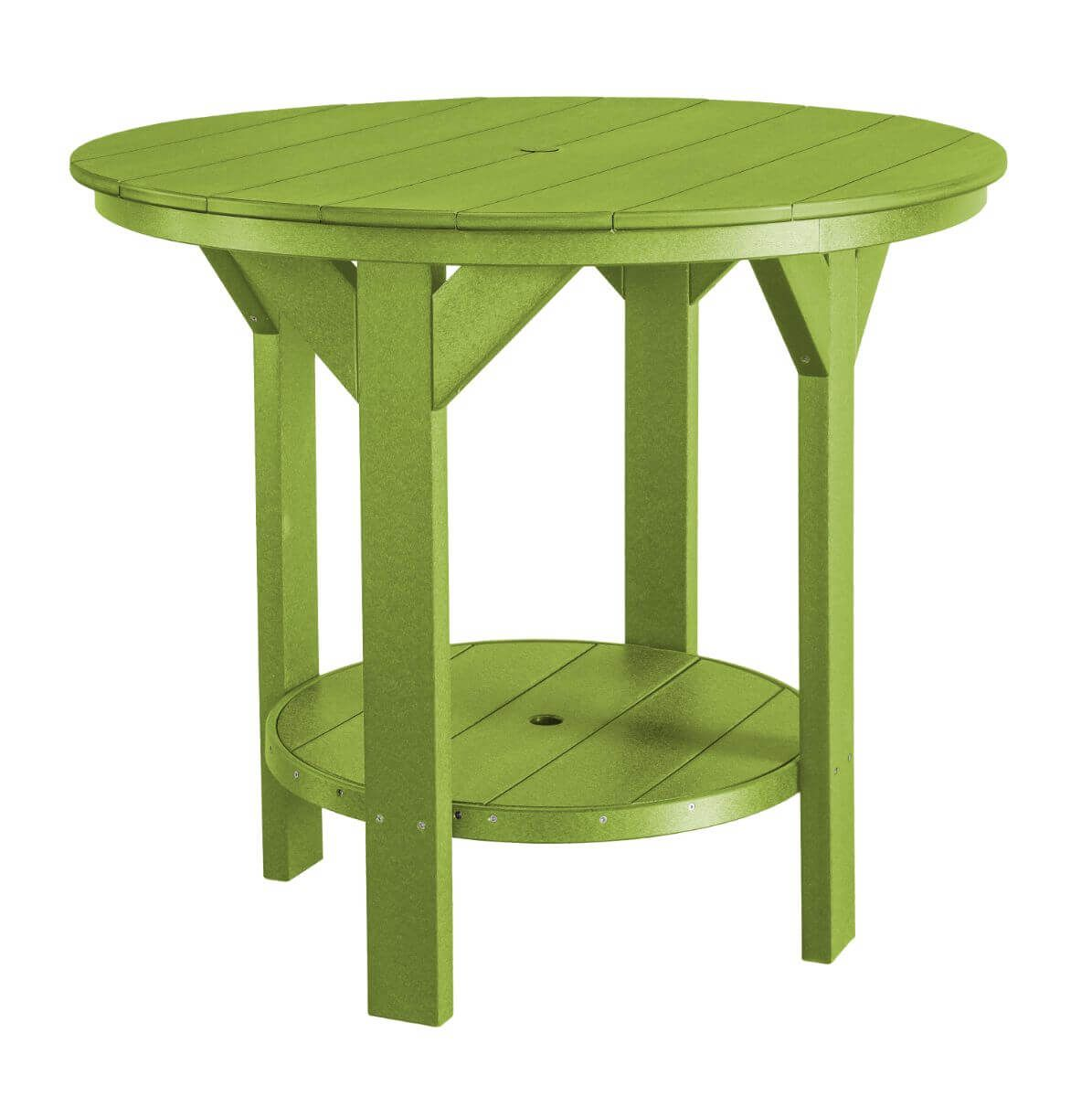 Lime Green Sidra Outdoor Pub Table