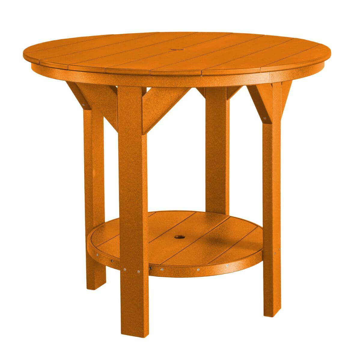 Orange Sidra Outdoor Pub Table