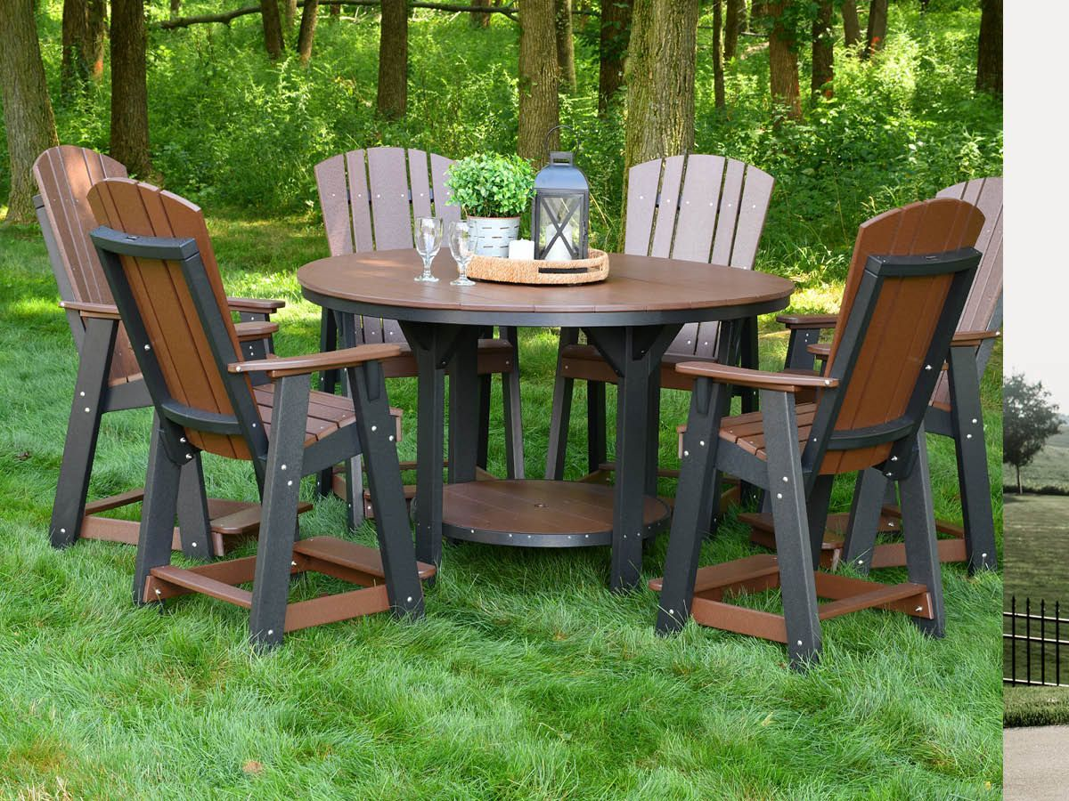 Poly Lumber Pub Dining Set
