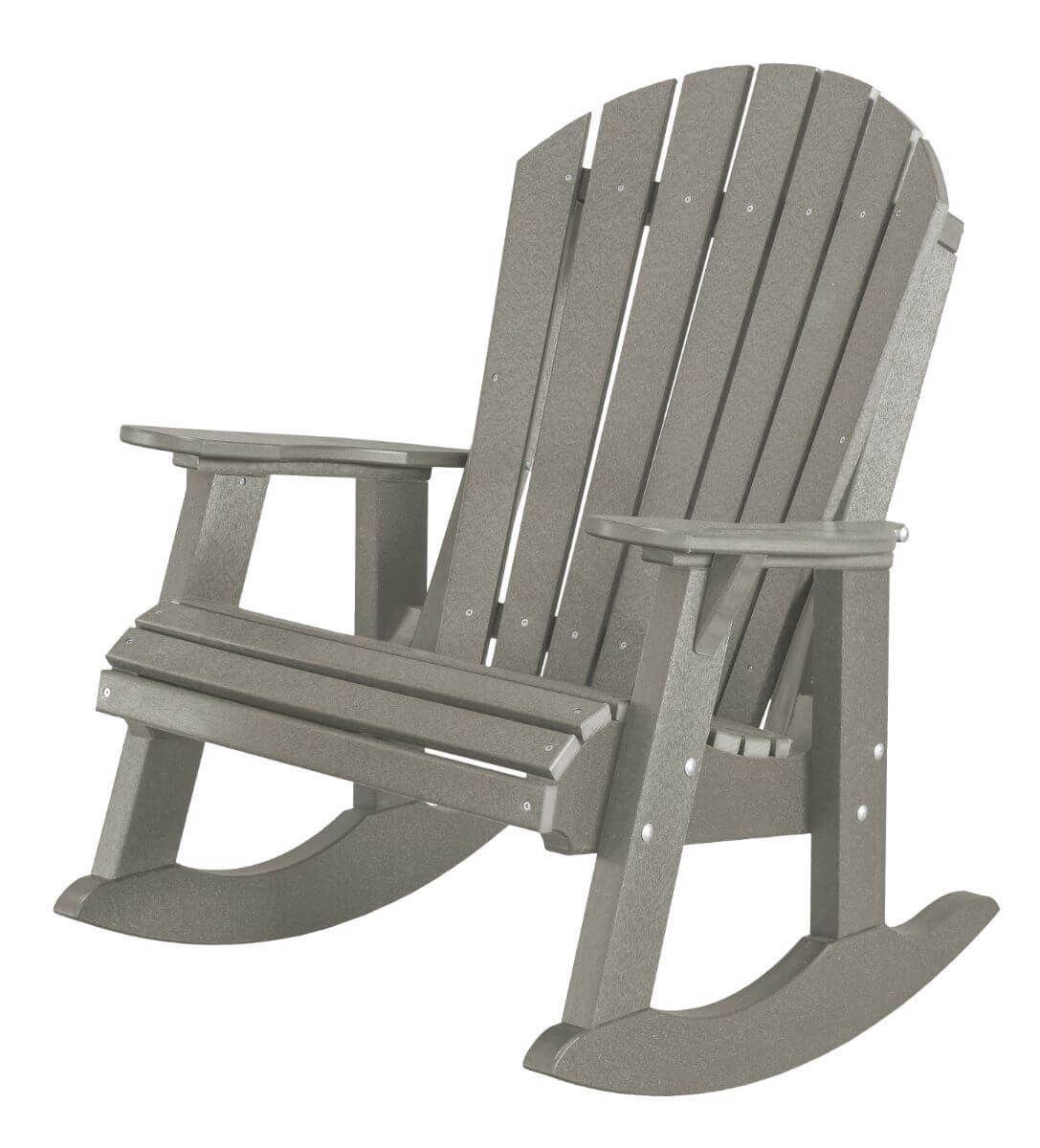 Light Gray Sidra Adirondack Rocker