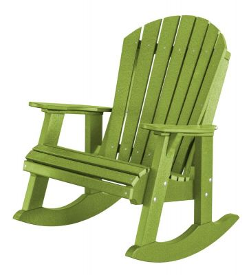 Lime Green Sidra Adirondack Rocker