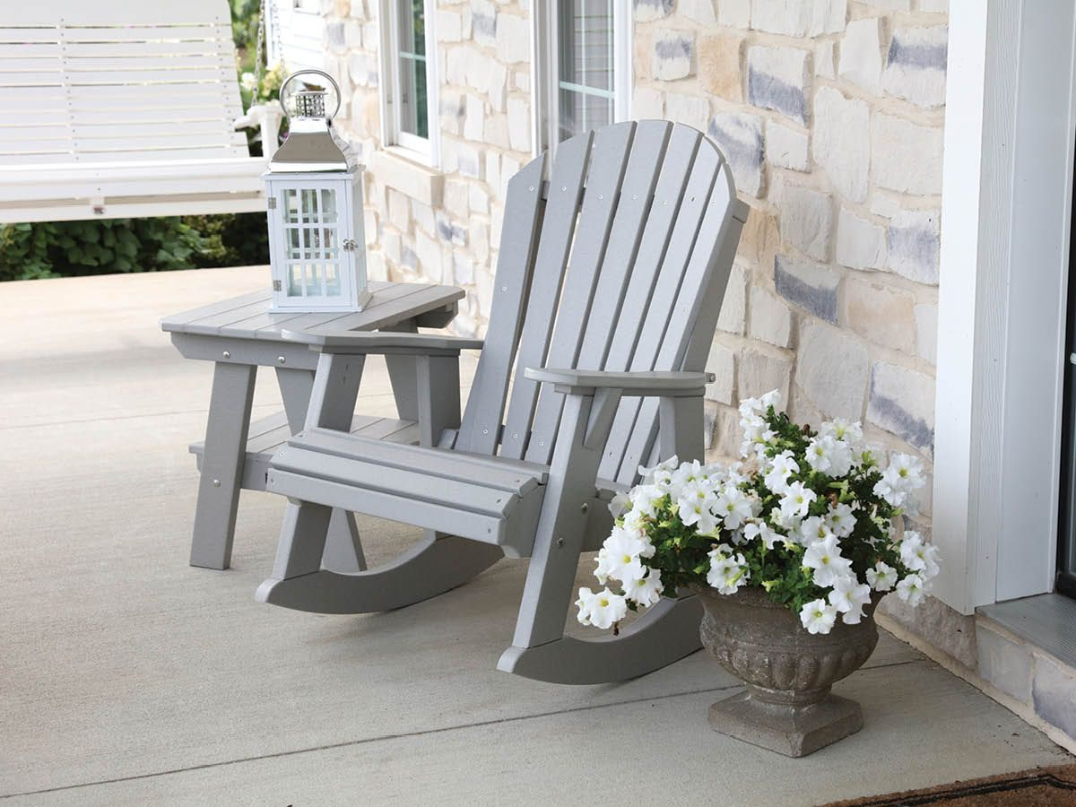 Sidra Adirondack Rocker and Table