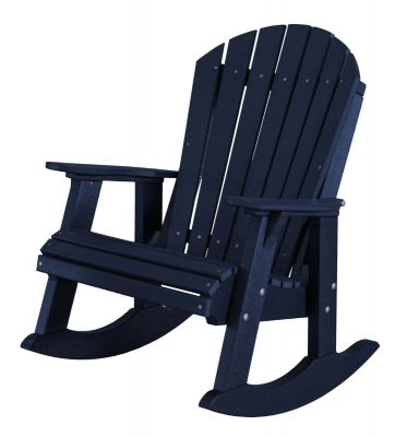 Patriot Blue Sidra Adirondack Rocker