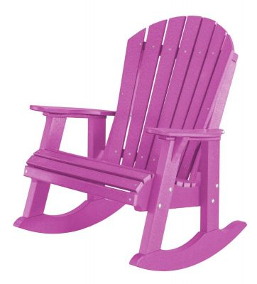 Purple Sidra Adirondack Rocker