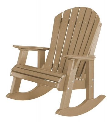 Weathered Wood Sidra Adirondack Rocker