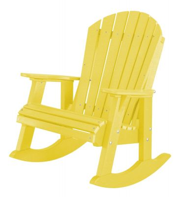 Lemon Yellow Sidra Adirondack Rocker