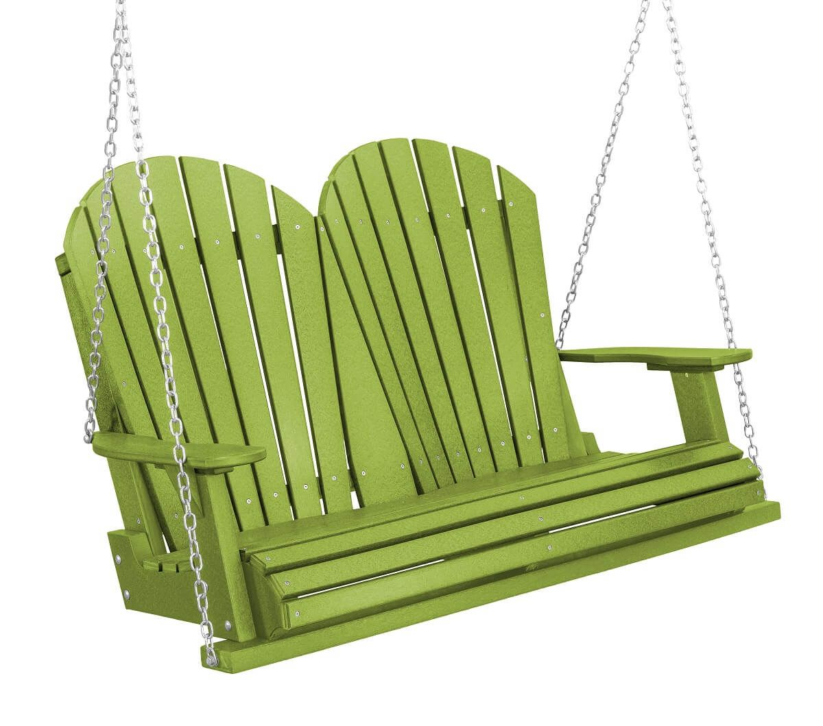 Lime Green Sidra Outdoor Porch Swing