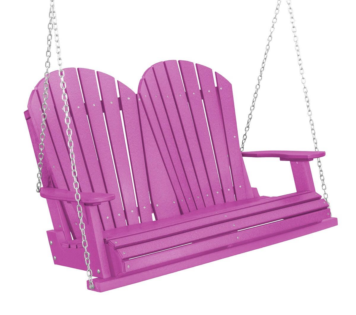 Purple Sidra Outdoor Porch Swing