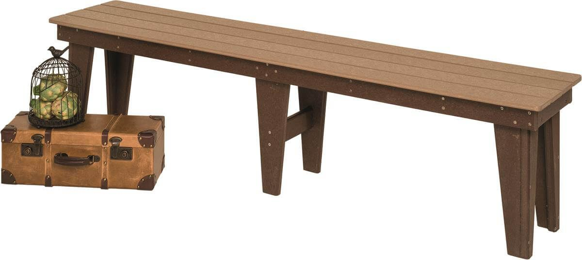 72 Inch Moorea Outdoor Backless Bench