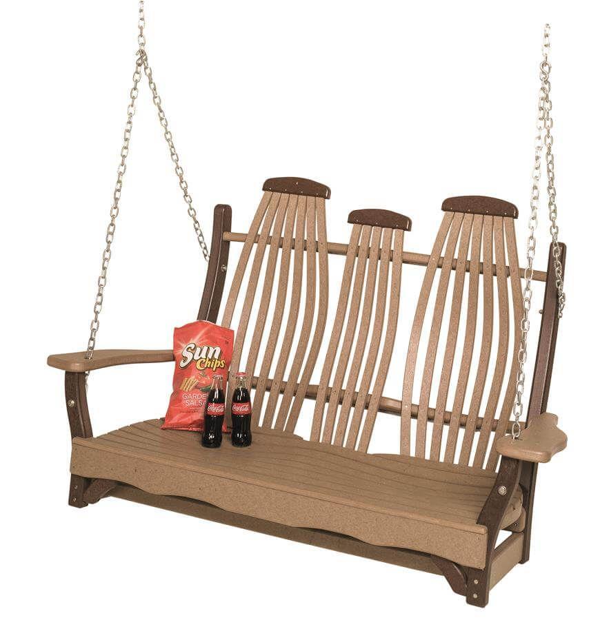 Boracay Rustic Porch Swing