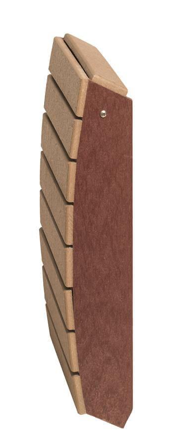 Footstool shown folded