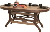 Figi Outdoor Oval Dining Table