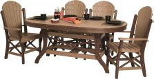 Two toned Figi Outdoor Dining Set