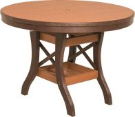 Figi Round Patio Dining Table