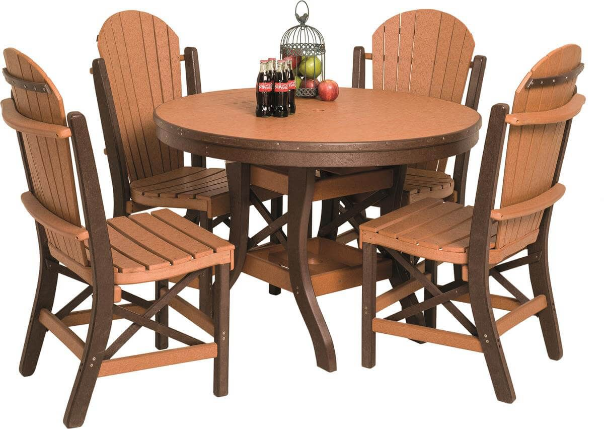 Poly Lumber Figi Outdoor Oval Dining Table